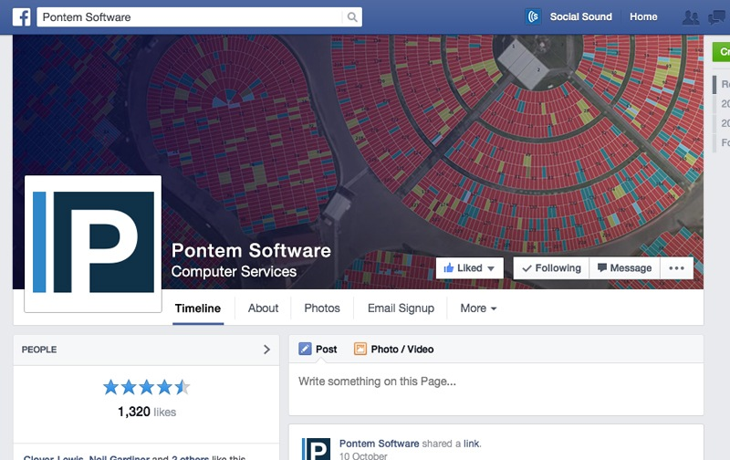 Client - Pontem Software Facebook